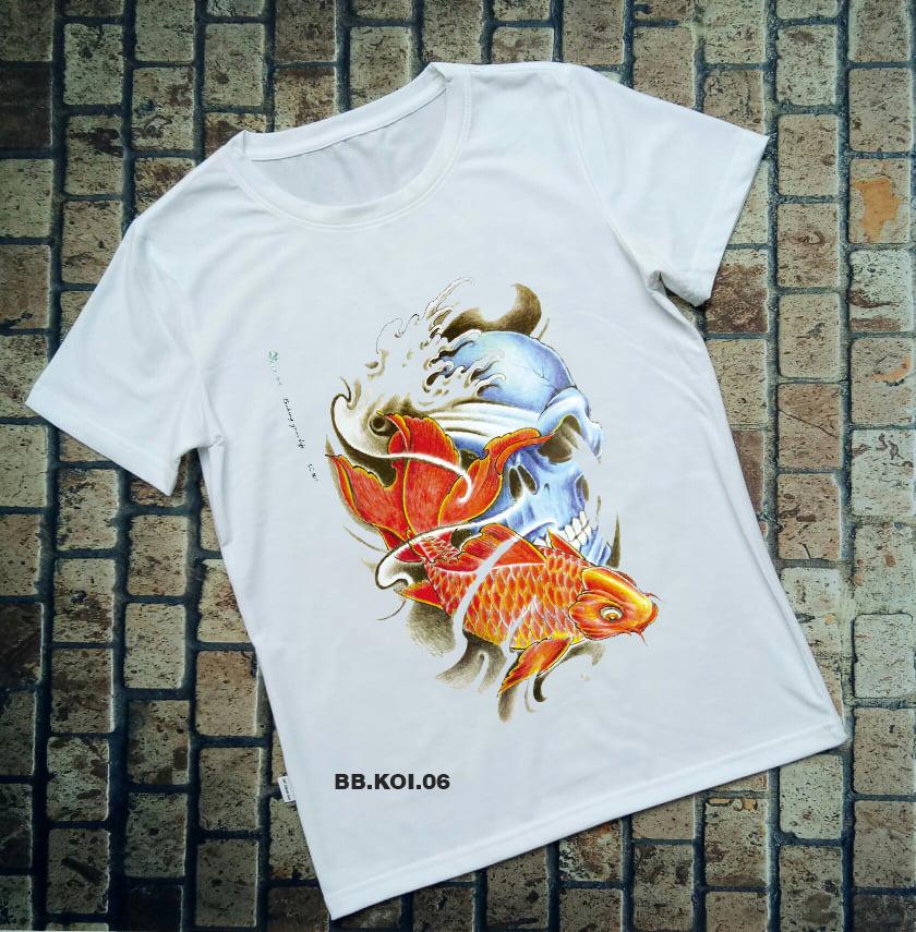 Áo thun cá Koi BB.KOI.06