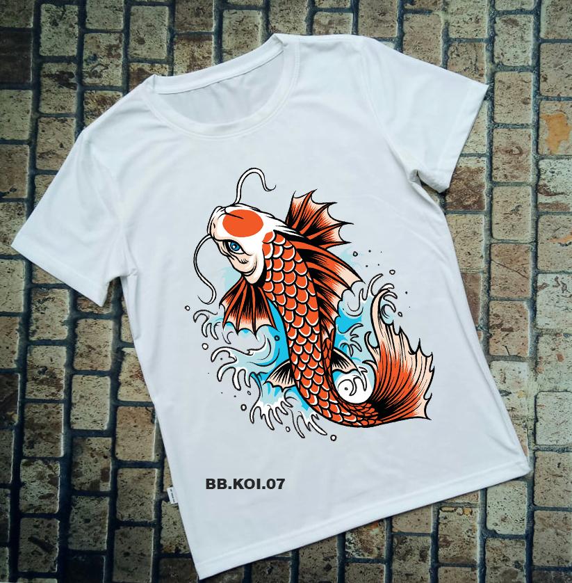 Áo thun cá Koi BB.KOI.07