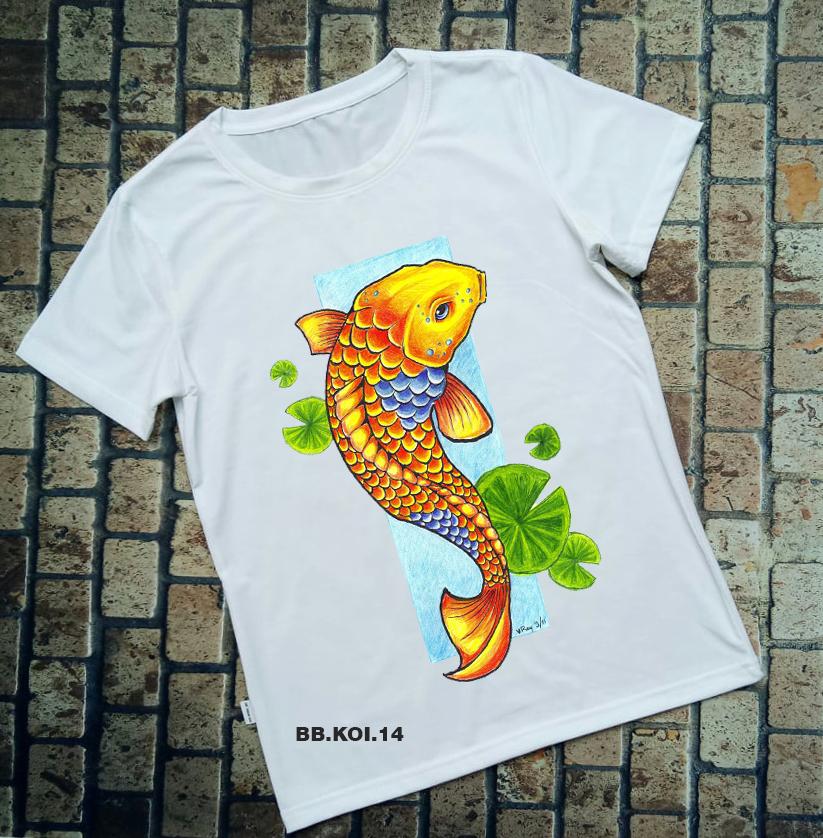 Áo thun cá Koi BB.KOI.14