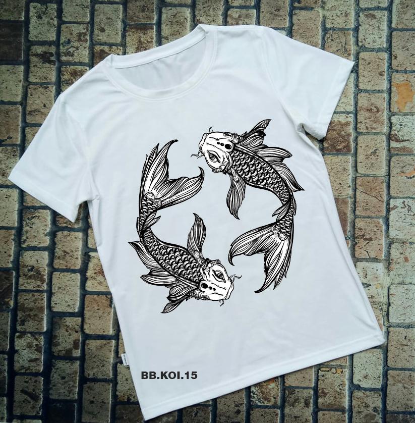 Áo thun cá Koi BB.KOI.15