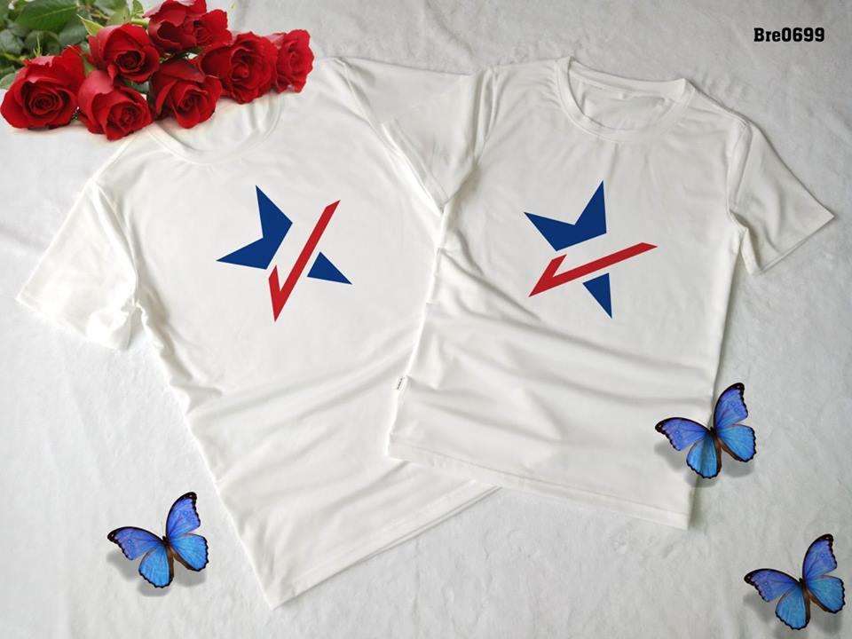 Áo thun in cờ Mỹ COMY10( BRE0699)