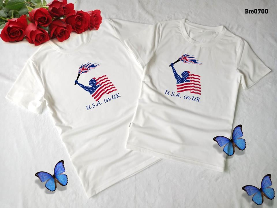 Áo thun in cờ Mỹ COMY11( BRE0700)
