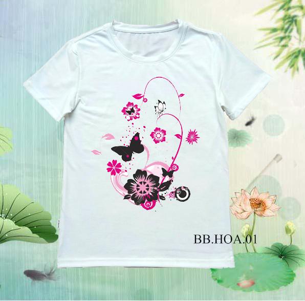 Áo thun hoa  BB.HOA01