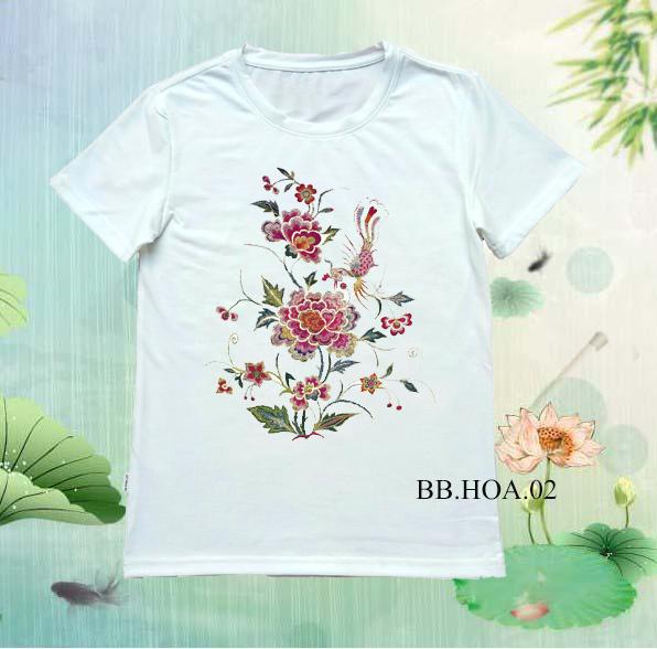Áo thun hoa BB.HOA02
