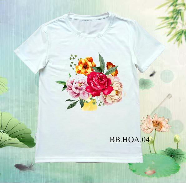 Áo thun hoa BB.HOA04