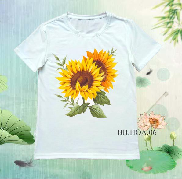 Áo thun hoa BB.HOA06