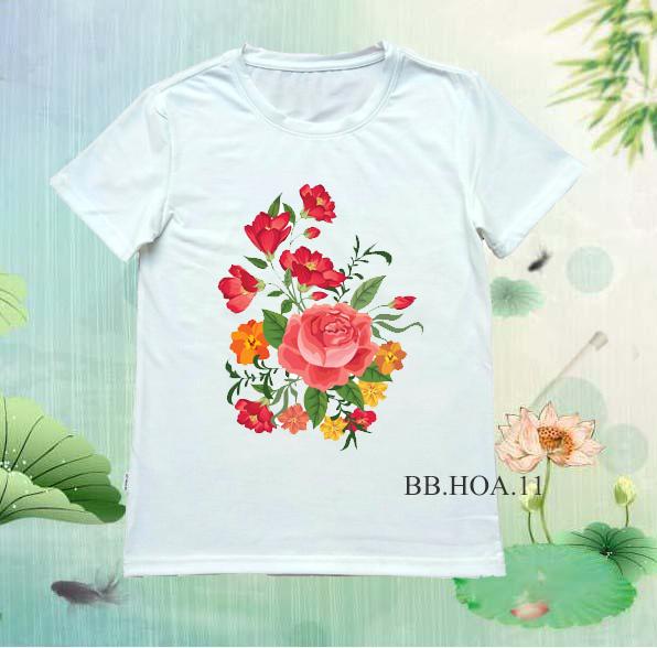 Áo thun hoa BB.HOA11