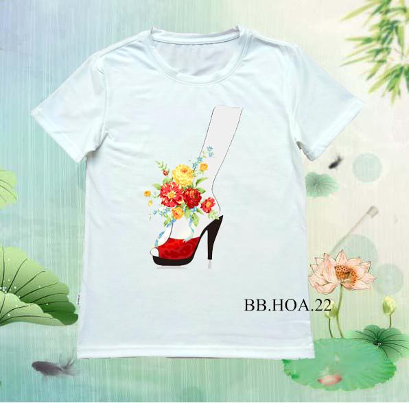 Áo thun hoa BB.HOA22