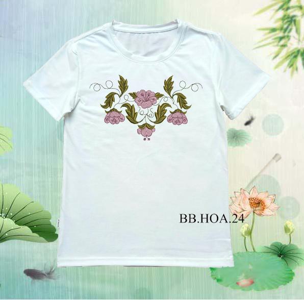 Áo thun hoa BB.HOA24