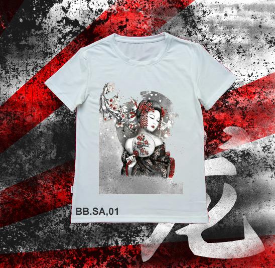 Áo thun Geisha SA01
