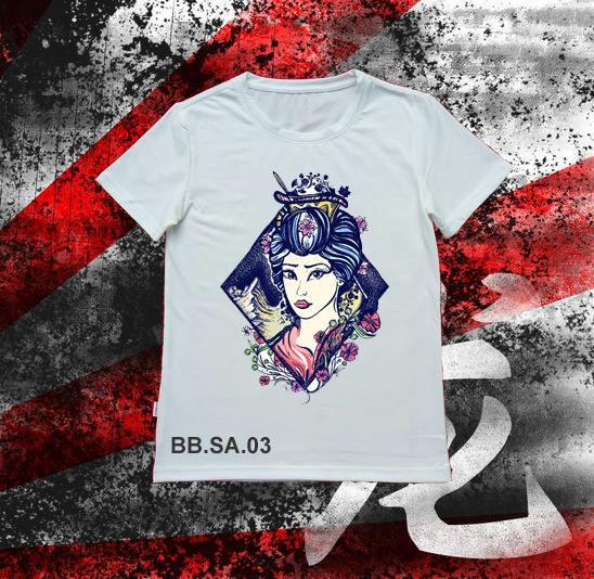 Áo thun Geisha SA03