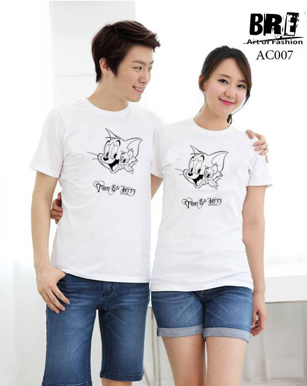 Áo cặp đôi mặt cười AD31 ( AC007)
