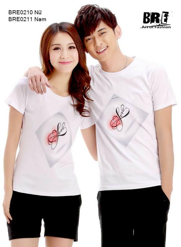Áo cặp đôi LOVE AD50 ( BRE0210 -BRE0211)