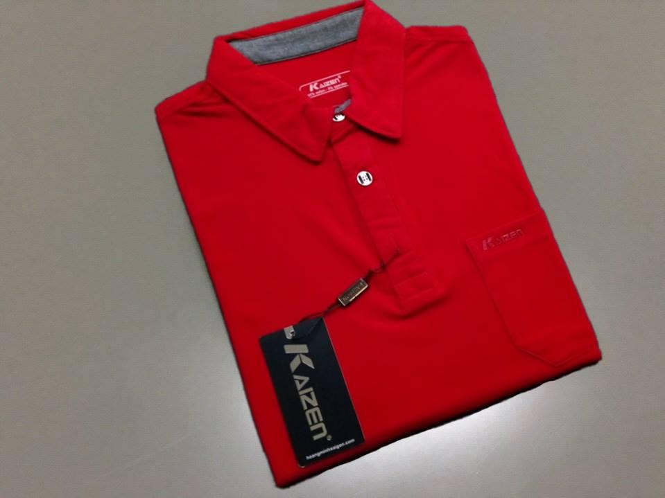 Áo thun nam kaizen K03 (đỏ )