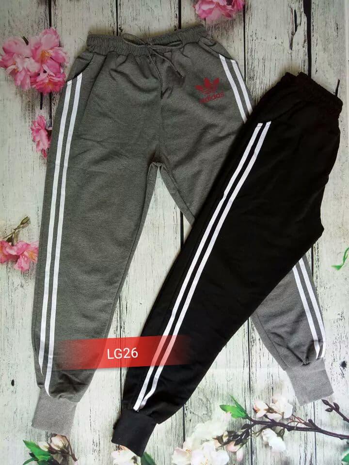 Quần legging bo chân Adidas đỏ LG26