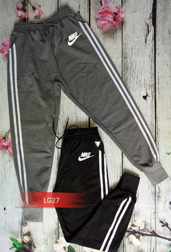 Quần legging bo chân Nike trắng LG27