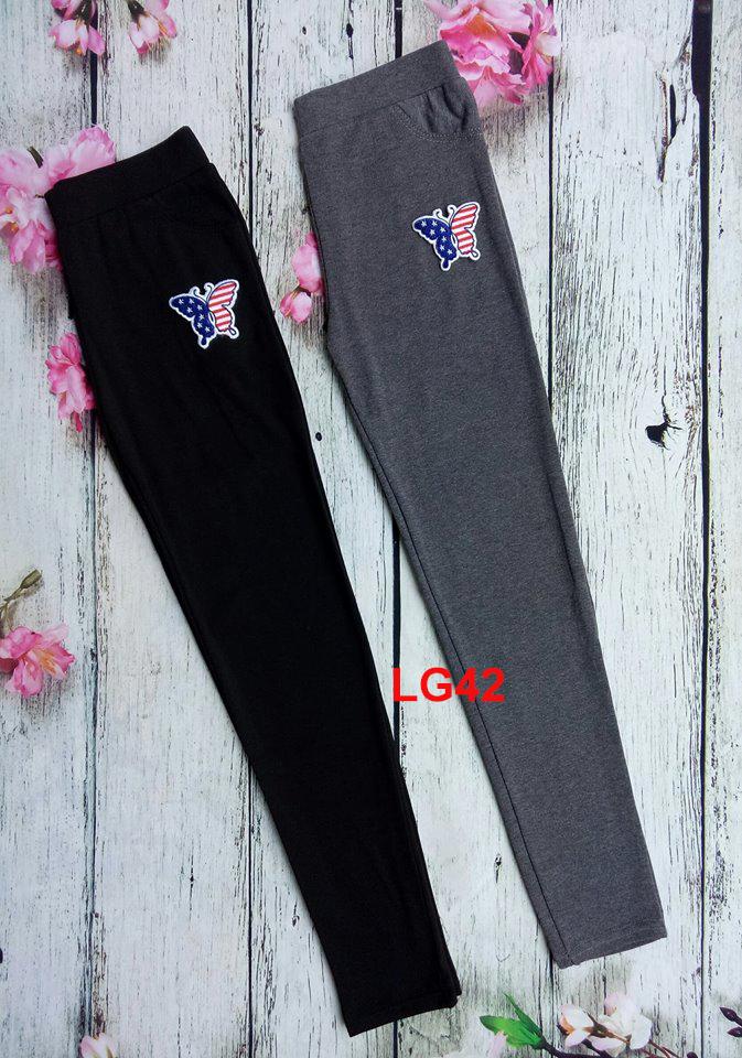 Quần legging bướm cờ mỹ LG42
